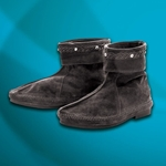 Low Suede Viking Boots,Low Suede Medieval Boots ,Suede Viking Ankle Boots 100860
