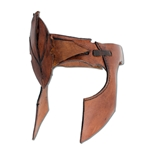 Leather Elven Head Band - Brown