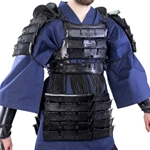 Leather Samurai Armor - Black