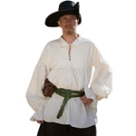 LARP Pirate Shirt - Off White