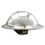 WW1 Brodie 'Tommy' Helmet Pin Badge