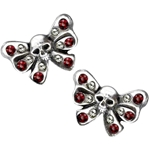 Bow Belles Studs Earrings Peweter Alchemy ULFE11
