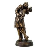 Sailor and Nurse Statue,WWII Sailor and Nurse Statue,WWII sailor,WWII nurse,V-J day kiss,d-day,wwii,ww2 kiss,world war II,WWII collectible,WWII figurine,unconditional surrender,WWII kiss,iconic kiss