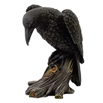 Mourning Raven Statue