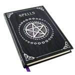 Pentagram Spell Book in Purple