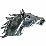 Stallion Horse Head Brooch 106.0753