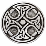 Celtic Cross Pewter Brooch 106.1450