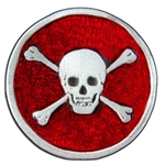 Skull And Bones Pewter Pin 116.0911