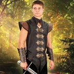 Elizabethan Leather Vest 26-101462