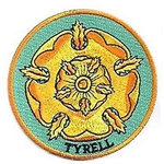 House Tyrell Embroidered Patch 22-777