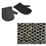 Padded Chainmail Mittens Dome Riveted Rings AB2753
