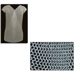 Sleeveless Chainmail Shirt, 50 inch Chest