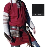 Celtic / Medieval Tunic - Black Medium