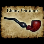 Ebony Outdoor Pipe 30-2424