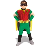 Teen Titans Robin Muscle Chest Deluxe Toddler/Child Costume 38-21076