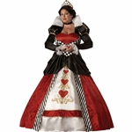 Queen of Hearts Elite Collection Adult Plus Costume 38-31774
