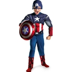 The Avengers Captain America Classic Muscle Chest Toddler Costume 38-802406
