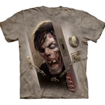 Zombie At the Door Adult T-Shirt 43-1035210