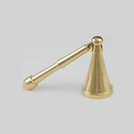 Long Belled Mini Brass Candle Snuffer 45-CS280