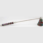 Multi-Color Jeweled Candle Snuffer 45-CS806