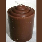 Fifteen Hour Brown Votive Candle 45-CVABR