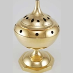 Collapsible Brass Incense Burner 45-IBBCD