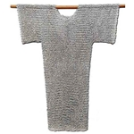 Chainmail Hauberk Shirt Butted Steel 62-9887