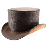 Gent Leather Top Hat - Brown