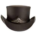 Pale Rider Hat,Pale Rider Top Hat, Skull Band