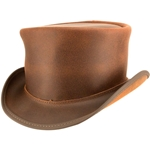 El Dorado Top Hat in Brown