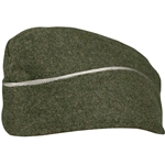 German M40 Waffen SS Overseas Side Cap - Officer - Repro