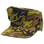 German Waffen SS M43 Mottled Oak Camo Field Cap