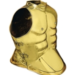 Greek Horseman Muscle Armour Brass AH-6097-B
