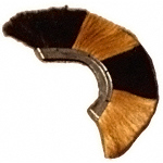 Black and White Roman Plume AH-6104