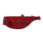 Bagpipe Cover and Cord, Tartan BGRT