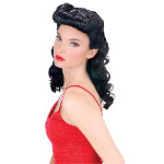 Burlesque Beauty Wig  Adult 100-145685