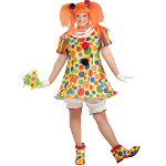 Giggles The Clown Adult Plus Costume 100-152359