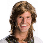 70s Guy Brown Wig Adult 100-180287