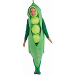 Pea Adult Costume 100-199158