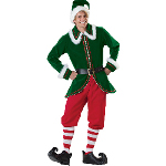 Santa's Elf Adult Costume 100-215898