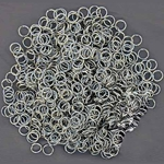 Chain Mail Rings Stainless Steel