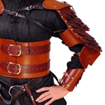 Leather Scale Dragon Arm Armor BTS-4401