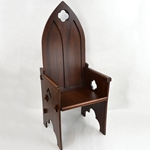 Gothic Medieval High Back Chair ,Medieval Chair,Medieval throne,Medieval Camp Chair