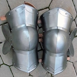 Medieval Archers Knees Steel