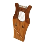 Mini Kinnor Harp with Case HKNM