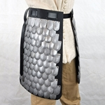 Scale Armor Skirt - 20 Gauge Steel,Scale Armor Skirt,Steel Scales,scale Armor,Scale Armour,Skirt,wearable armor Skirt,Thigh armor,Medieval Scale Skirt,Scale Armor Legs,Warrior Skirt,LARP warrior skirt