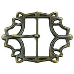 Large Belt Buckle - Antiqued Brass