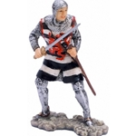 14th Century Crusader Military Figurine MINKFIG3