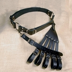 Leather Rapier Belt and Hanger
