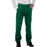 Victorian Steampunk Trousers in Green